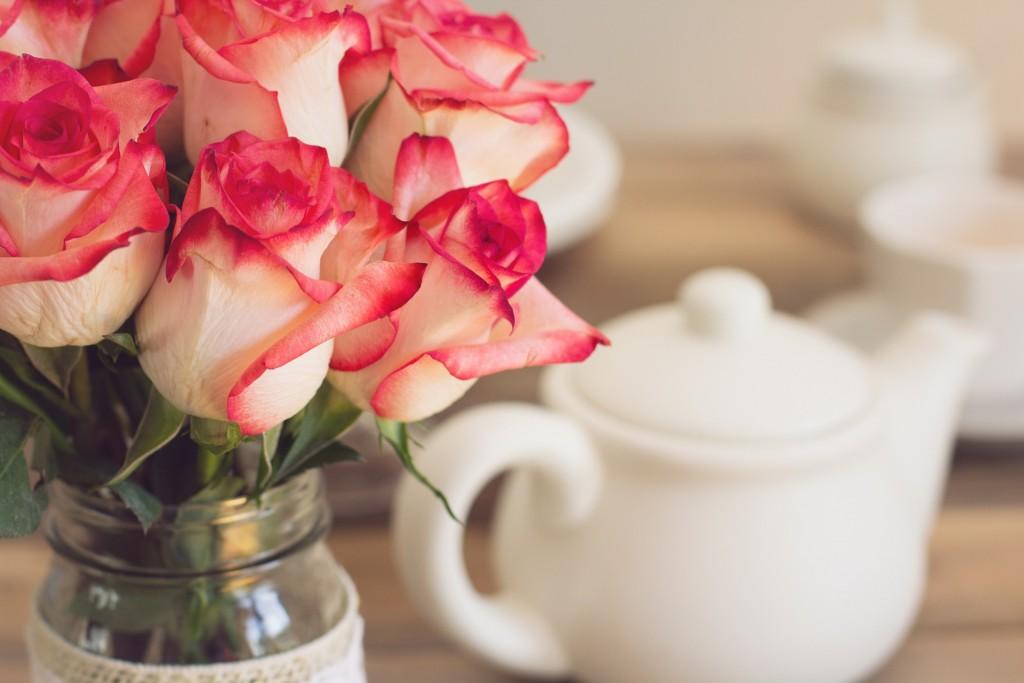 Чай с розами