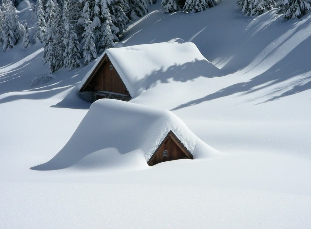 Снег по-японски