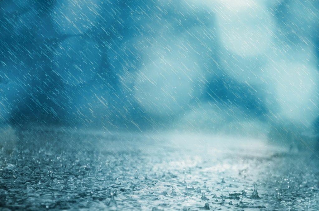 Японская ономатопея, связанная с дождями